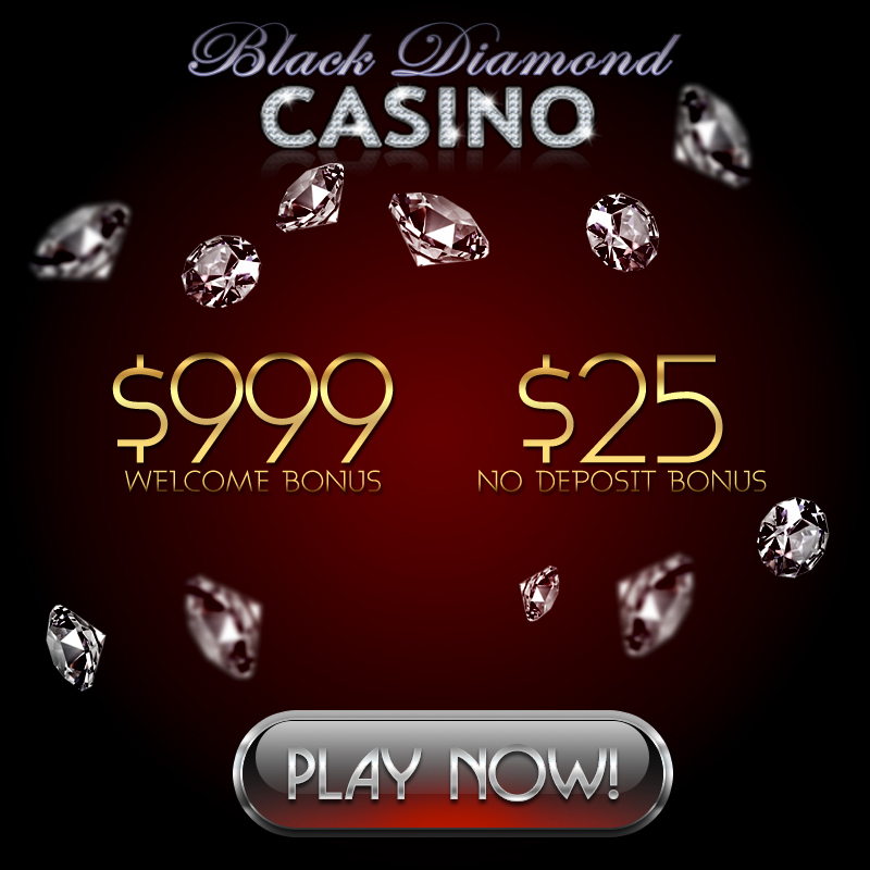 Black Diamond Casino Review 25 No Deposit Bonus 999 Welcome Bonus